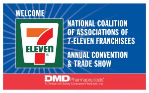Trade show graphics image