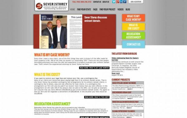 Sever Storey website