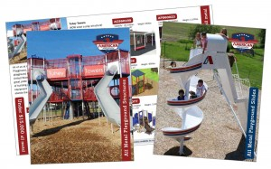 American Playground slide and structure brochure
