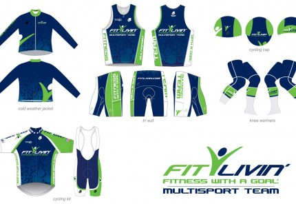 Fit Livin' Team kit options