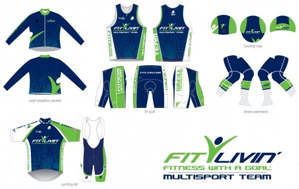 Fit Livin' MultiSport Team kits