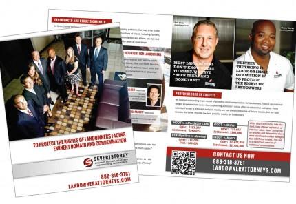 Sever Storey promotional brochure image