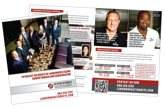 Sever Storey promotional brochure