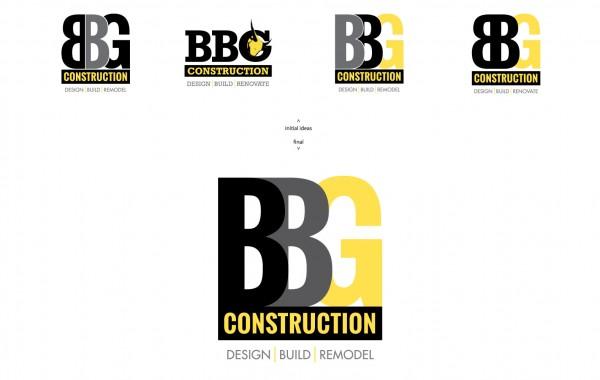 BBG Construction – corporate identity / logo
