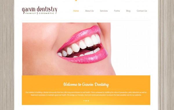 Garvin Dentistry – website