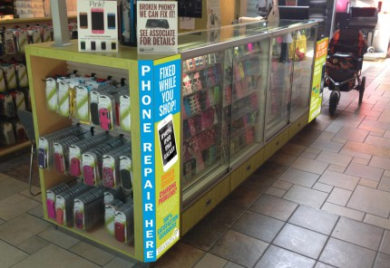 Kiosk graphics