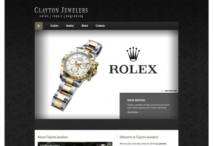 Clayton Jewelers website