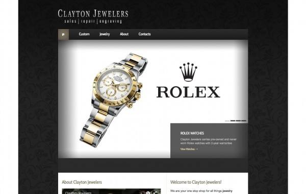 Clayton Jewelers – website development