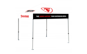 Firestone pop-up tent