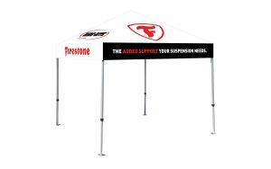 Firestone Industrial Products promotional canopy